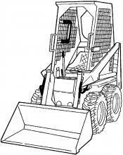 Bobcat 310 313 Cargadora Manual Servicio de Fabrica Pdf