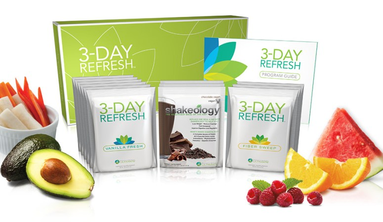 Want a Clean Break from Bad Habits?  3 Day Refresh