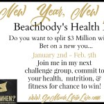 Join Me in: New Year, New You ~ Beachbody Health Bet ~ January 2017
