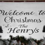 The Henry's Log Home Christmas Tour 2017