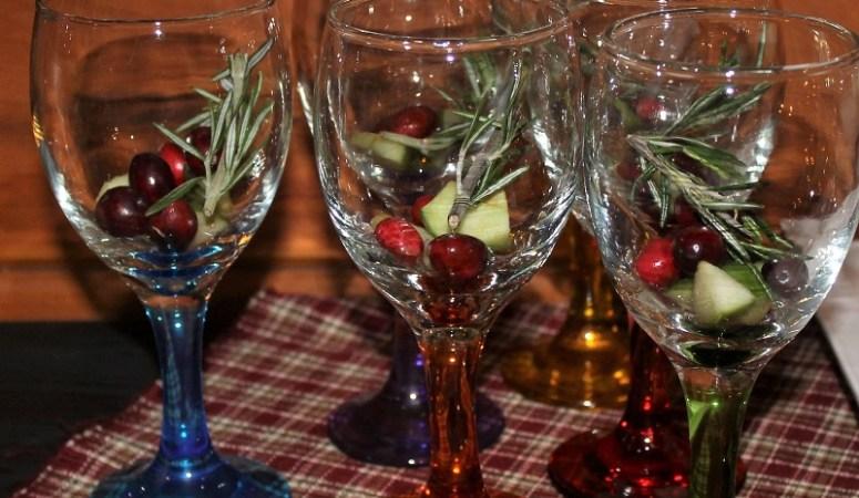 Simple Christmas Sangria
