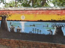 Local artists depict scenes from daily life in Nkhata Bay