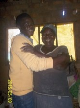 Witness with his beloved grandmother