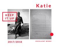 Katie's school report