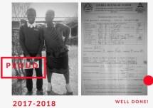 Witness's school report