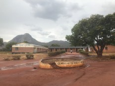 The entrance at Lunjika Secondary School
