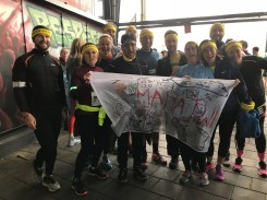 All the group before the run