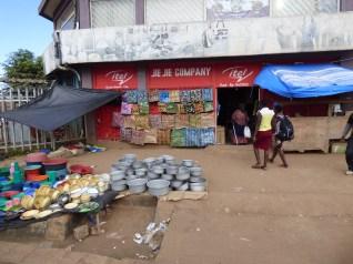 Some shops in Mzuzu
