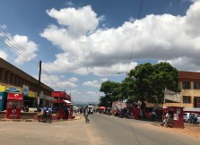 One of the streets in Mzuzu