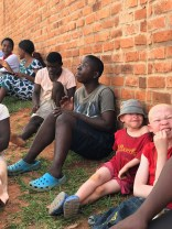 Some of the albinos at the school