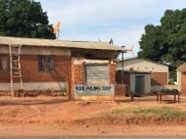 A shop in Nkhata Bay