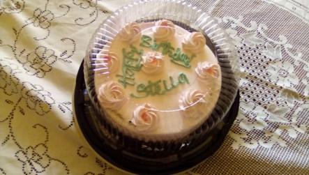 Stella's birthday cake