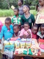 Bandawe students and food