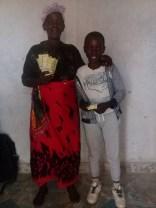 Gift and his grandma