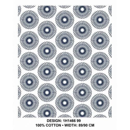 3 Cats Fabric - CW99 ShweShwe Fabric Per Meter