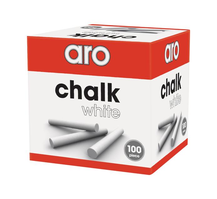 ARO Chalk White 100 Pack