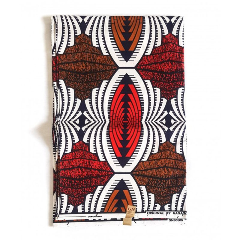 Color Shield African Print Fabric Poly