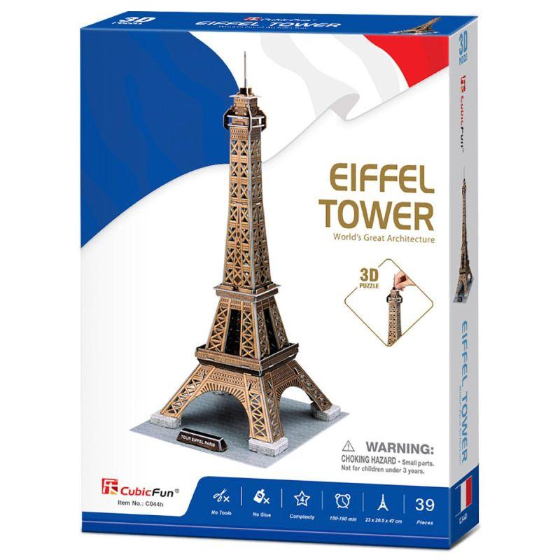 Eiffel Tower 3D Puzzle (35pcs)