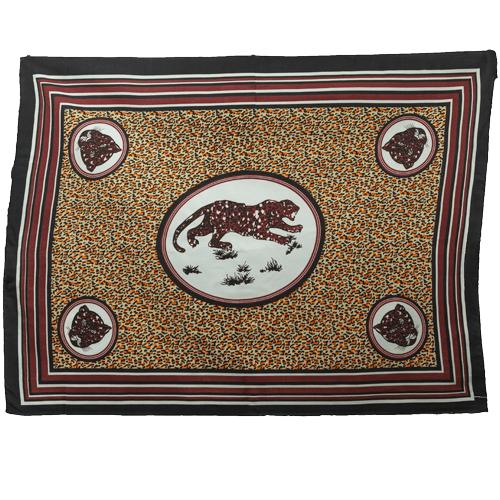 Fabric - Animal Khanga Cheetah Walk