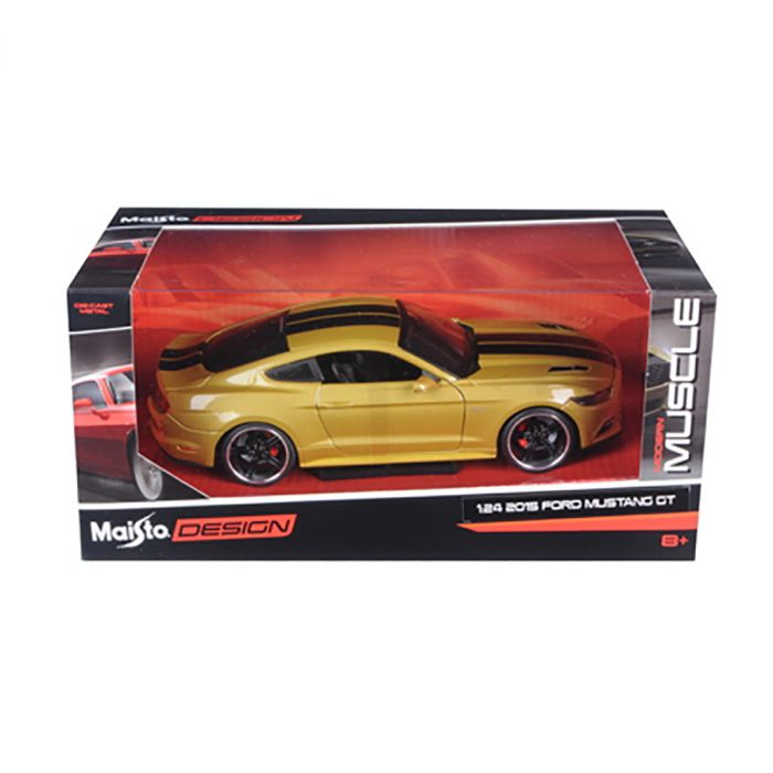 Ford Mustang GT 2015 DESIGN 1:24 Scale