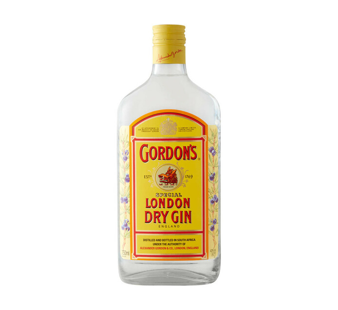 Gordon's London Dry Gin (1 x 750 ml)