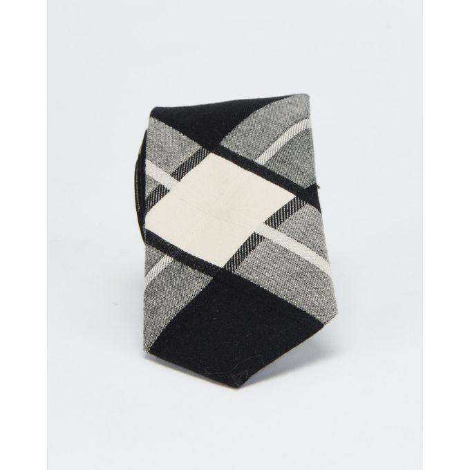 Joy Collectables Fashion Check Tie Black