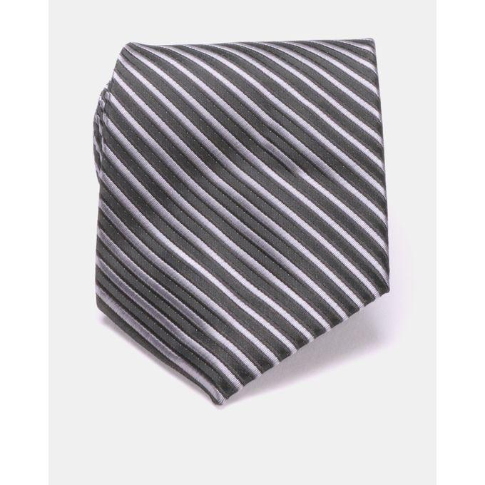 Joy Collectables Striped Tie Black- 2