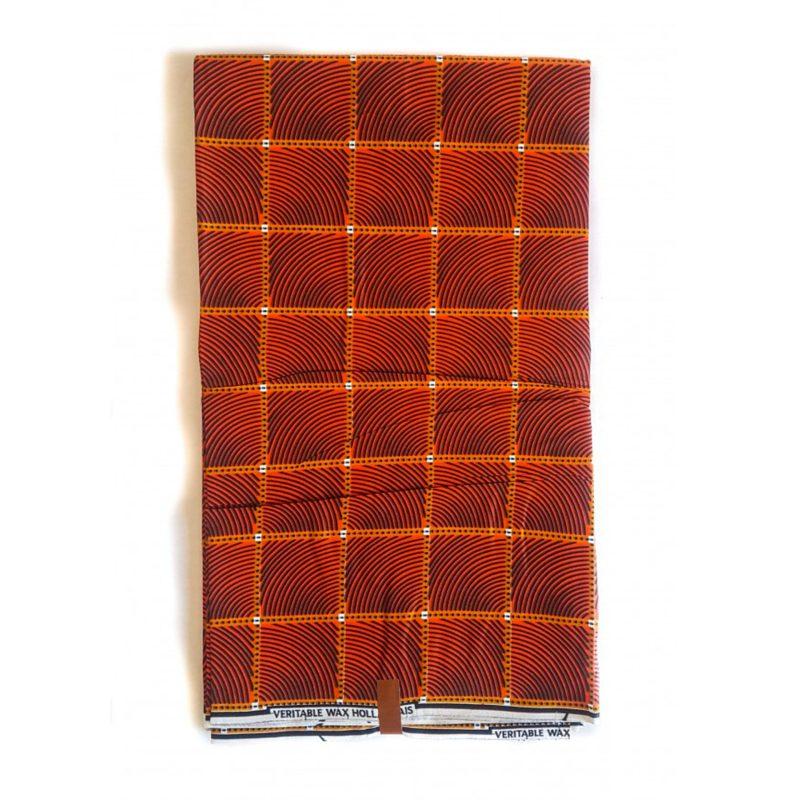 Kwele African Fabric Print