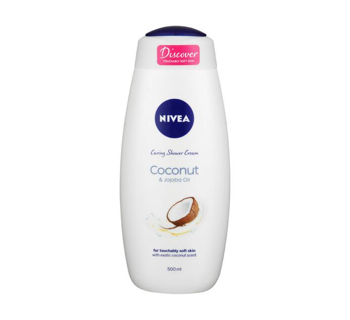 Nivea Shower Gel Coconut & Jojoba Oil (1 x 500ml)