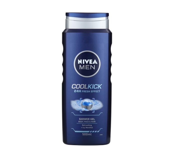Nivea Shower Gel Coolkick (1 x 500ml)