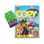 Paw Patrol Colouring Book with 24 Wax Crayons