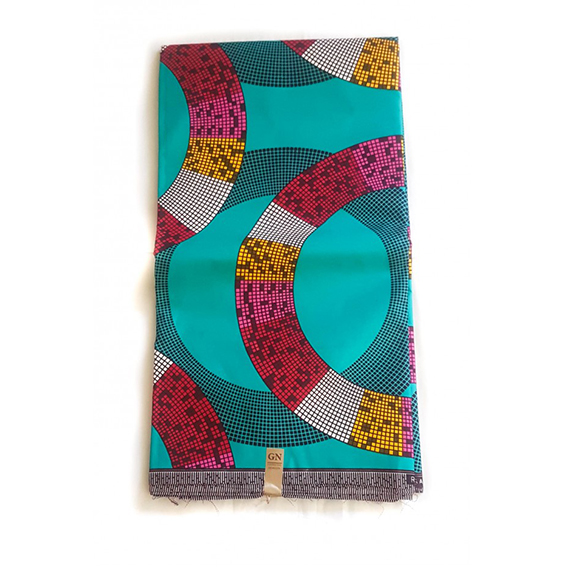 Hoops African print polyester