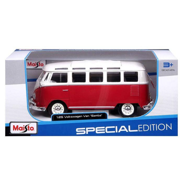Volkswagen Samba Van 1:24 Scale