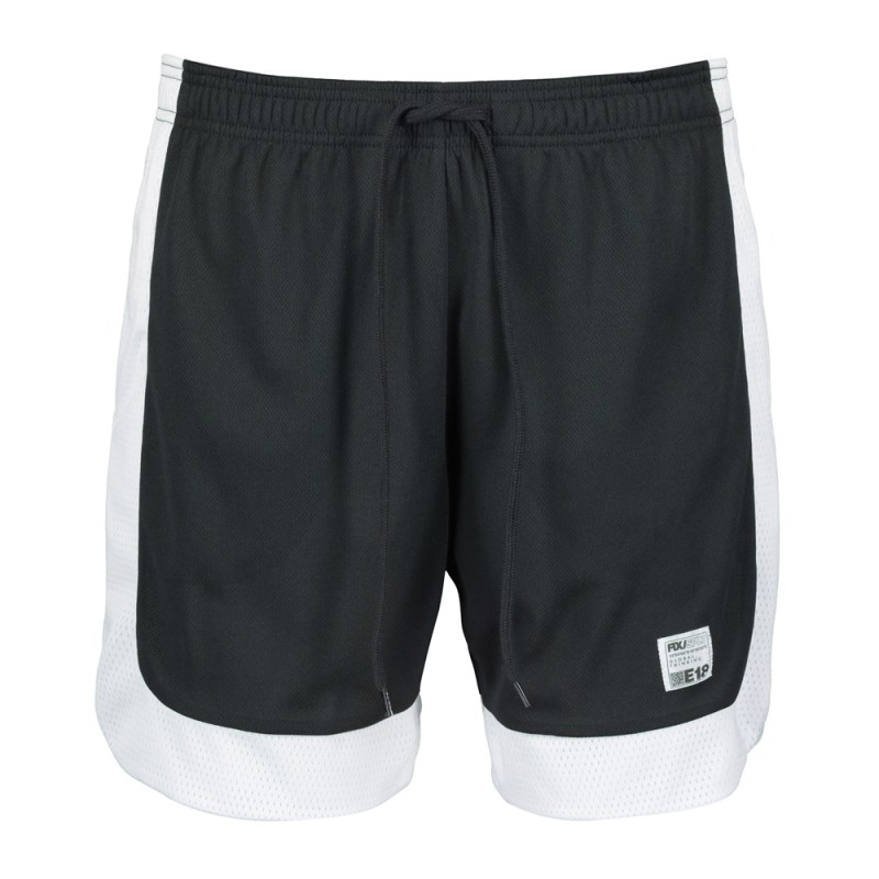 Men's Black & White Sport Shorts
