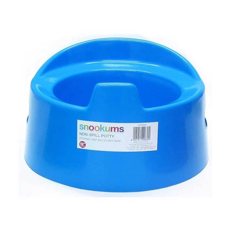 Snookums Non-Spill Potty Blue