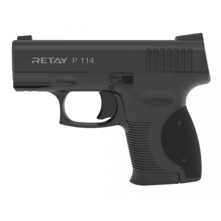 RETAY P114 Semi-Auto Blank And Pepper Rounds Gun - Black