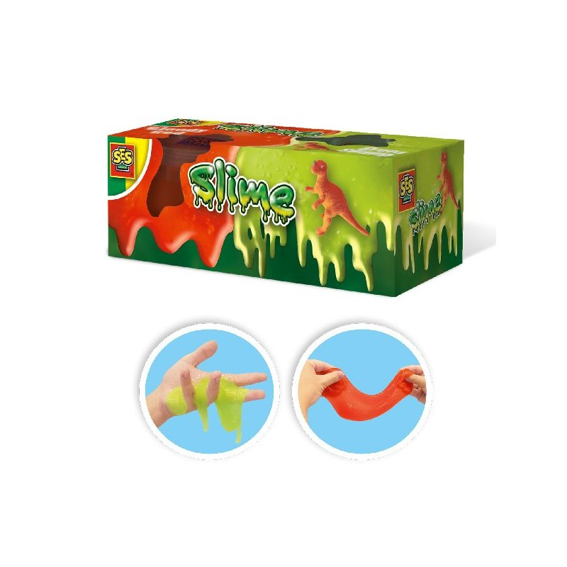 Ses Creative Slime – T-rex 2x120gr