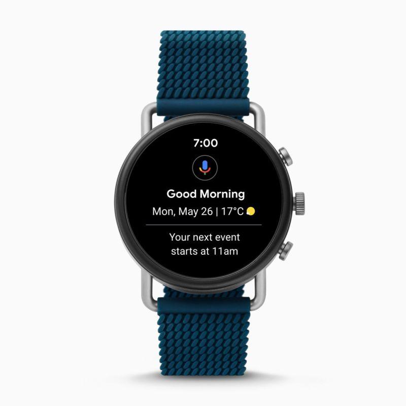 Smartwatch HR - Falster 3 Blue Silicone Mesh - SKT5203