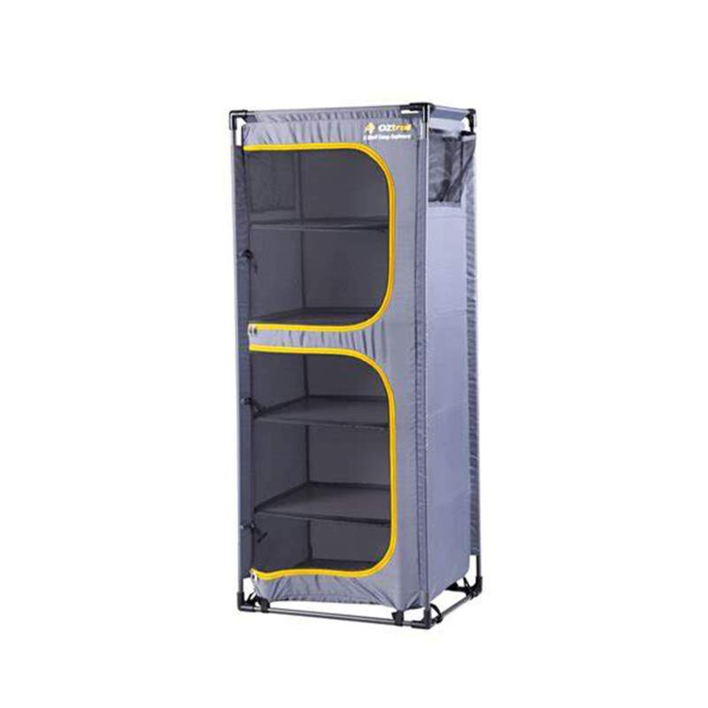OZtrail Folding 5 Shelf Cupboard