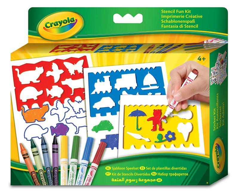 Crayola Stencil Fun Set