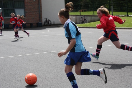 Girls Football Match16