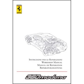 2005 Ferrari 360 Modena workshop manual vol2 1999/05 PDF
