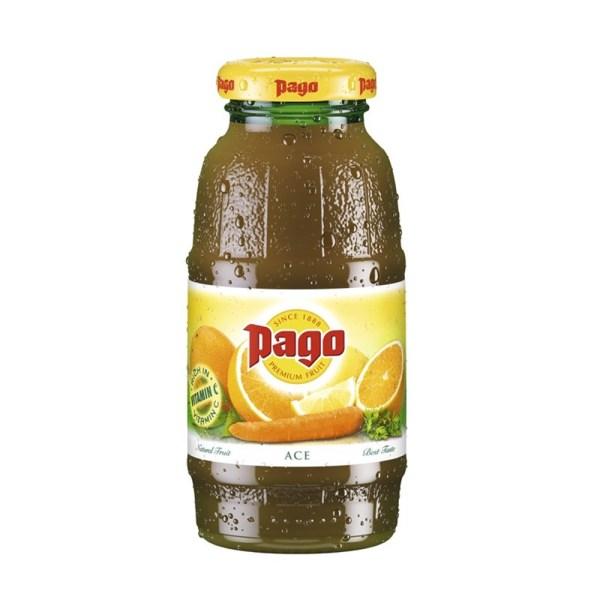 Jus de fruits Pago Orange Carotte Citron (A.C.E) 20cl