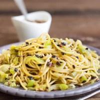 Achtung, oberleckerer Spaghettisalat!