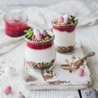 Österliches Beeren-Mohn-Dessert zu Secco {Werbung}