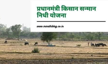 प्रधानमंत्री किसान सन्मान निधी योजना