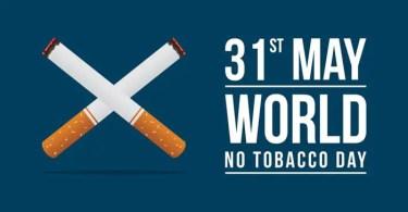 World No Tobacco Day In Marathi
