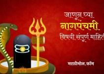 जाणून घ्या नागपंचमी सणाची संपूर्ण माहिती Nag Panchami Information In Marathi