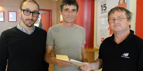 IBIS ALBI … et l'HEUREUX GAGNANT…..