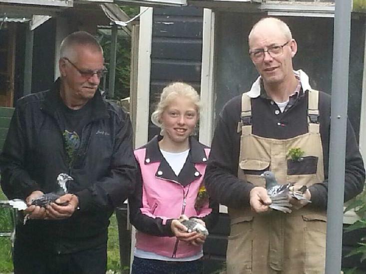 Dirk en Elitsa Veldhuis, Amsterdam, winnen Pau in Fondunie 2000